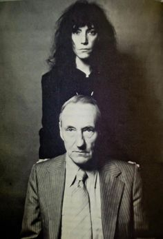 patti smith william burroughs by robert mapplethorpe