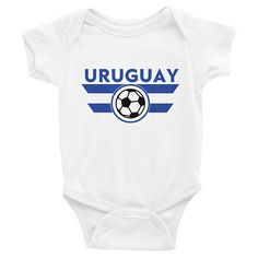 5c771142d67 Uruguay Onesie Soccer World Cup Infant Baby Toddler Newborn World Cup Shirts,  World Cup Jerseys