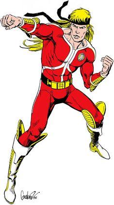 Tempest - ATARI Force Dc Comics, Image Comics, Iconic Characters, Comic Book Characters, Comic Books, The New Teen Titans, Garcia Lopez, Heroes Reborn, Black Manta