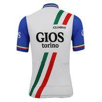 fdfbefeeb Italy Gios Torino Retro Cycling Jersey