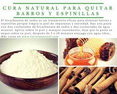 cura natural para quitar barros y espinillas