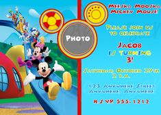 Pin By Jamie Vallandingham Burch On Mickey Mouse Clubhouse
