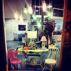 Furniture, Home Decor, Great Friends, Refurbished Furniture, Window Displays, Sevilla, Exhibitions, Night, Interiors