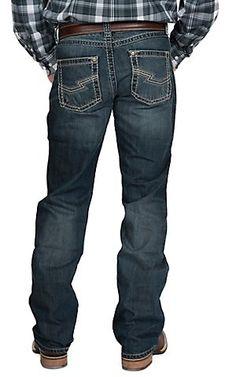 Rock 47 by Wrangler Men's Treble Slim Fit Boot Cut Jean   Cavender's