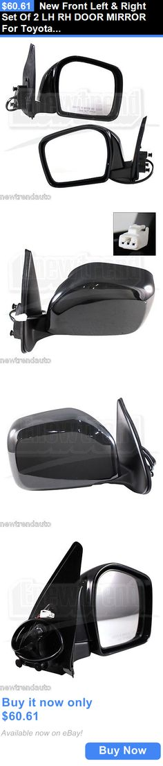 auto parts - general: New Front Left And Right Set Of 2 Lh Rh Door Mirror For Toyota Tacoma BUY IT NOW ONLY: $60.61