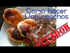VIAJE CULINARIO: Como hacer Llapingachos (Ecuador) - YouTube