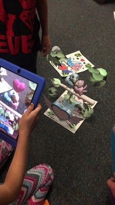 """""""My students love this using AR for writing inspiration!"""