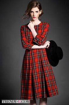 #tartan #dress #office #careerdress #платье #шотландка #шотландскаяклетка #тартан
