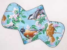 "9.25"" Regular - Birds - Reusable Cloth Menstrual Pad (9MC)"