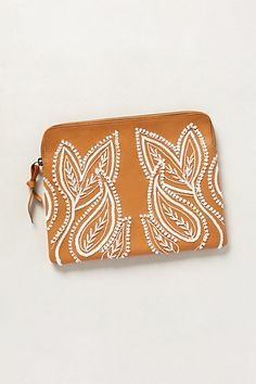 alba embroidered clutch / anthropologie