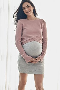 Maternity Skirt Australia - Kiss And Tell – BAE The Label Australia Winter Maternity Outfits, Fall Maternity, Casual Maternity, Stylish Maternity Clothes, Cute Maternity Style, Summer Maternity Fashion, Maternity Styles, Maternity Clothing, Maternity Pictures