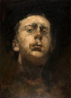 George Hendrik Breitner · Autoritratto · 1882 · Gemeentemuseum · Den Haag