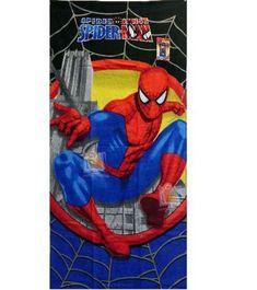 Marvel Spiderman Beach Towel