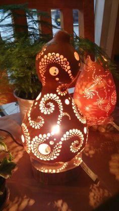 Maho-ra灯   瓢箪ランプ