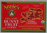 Annie`s Homegrown Organic Bunny Fruit Snacks Summer Strawberry -- 5 Pouches - List price: $6.19 Price: $4.89 Saving: $1.30 (21%)