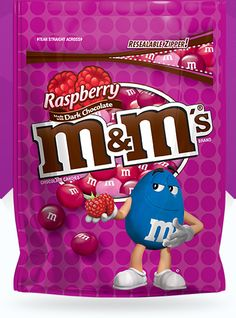 Raspberry M&M'S have hit Australia…the image is of the American packet…I'll tell you I wish that we had packs with a snaplock to reseal them instead of a silly little st…
