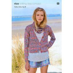 Cardigan and Snood in Rico Fashion Colour Pop DK - 310 Hand Knitting Yarn, Crochet Yarn, Knitting Patterns, Colour Pop, Pretty Pastel, Fashion Colours, Cardigans For Women, Knit Cardigan, Lady