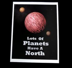 Doctor Who Print Lots of Planets Have A North by HausofAriella, $14.00