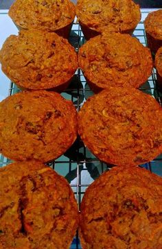 Vegan Carrot/Zucchini/Raisin Spice Muffin Recipe