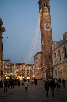 Vicenza, Italy - husband's sister lives here - it's beautiful! x