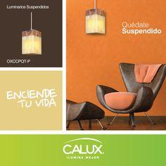 Un luminario que dejará suspendido en tu espacio, encuéntralo en http://www.calux.com.mx/