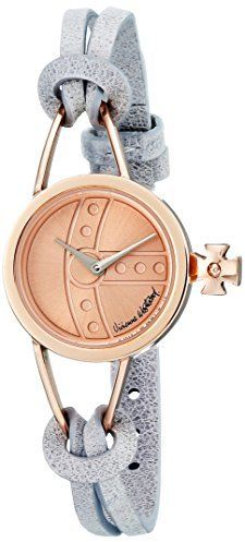 Vivienne Westwood Women's VV081RSGY Chancery Analog Display Swiss Quartz Grey Watch
