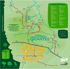 Mapa de Prudentopolis Salto São Francisco