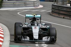 Nico Rosberg of Mercedes won his third straight Monaco Grand Prix - only the fourth driver in history to do so - from Lewis Hamilton after Amg Petronas, Nico Rosberg, Monaco Grand Prix, Mercedes Amg, Formula One, Hamilton, Ferrari, Vehicles, Car