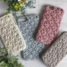 Crochet Phone Cover, Crochet Case, Free Crochet Bag, Love Crochet, Crochet Gifts, Crochet Bunny Pattern, Afghan Crochet Patterns, Crochet Basket Tutorial, Hand Embroidery Patterns Free