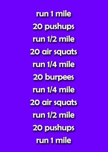 Run, Burpee, Run Workout
