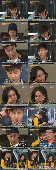 Episode 41 - Joong Ki's final episode as a RM permanent cast. Haha's house raid! :) LOL