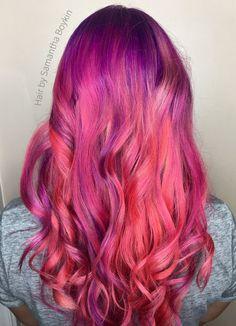 pink hair by Samantha Boykin