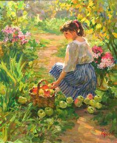 Vladimir Gusev - La Cueillette des Pommes