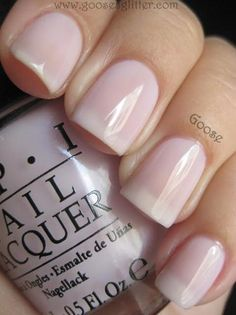Nude round up Simple Nails. Care to Danse by OPI Nail Lacquer (light purple jelly) Manicure Natural, Manicure And Pedicure, Manicure Ideas, Pedicures, Opi Nails, Nude Nails, Bridal Nails, Wedding Nails, Nagellack Trends