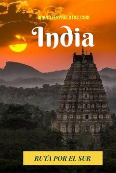 Itinerario de Viaje por el Sur de la India. #SurIndia #viajeIndia