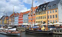 De mooie hoofdstad van Denemarken is Kopenhagen.