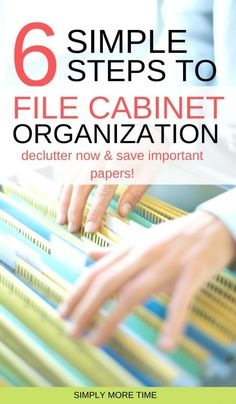 Home Office Filing Cabinet, Filing Cabinet Organization, Office Organization At Work, Organizing Paperwork, Clutter Organization, Paper Organization, Business Organization, Filing Cabinets, Organizing Jewelry