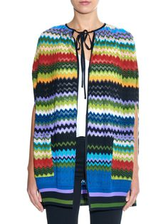 Chevron-knit cape | Missoni | MATCHESFASHION.COM UK
