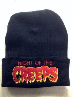 d4acae8f9c7 Night Of The Creeps beanie 80 s horror Tom Atkins