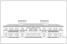 Bay Side rendering of the Indian Creek Estate by DLVG Architects in Miami, Florida.