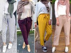 Spring hijab fashion 2018 – Just Trendy Girls Muslim Fashion, Modest Fashion, Hijab Fashion, Trendy Fashion, Latest Fashion For Women, Fashion Outfits, Fashion Trends, Hijab Elegante, Hijab Chic