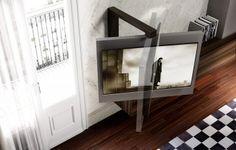 porta tv orientabile girevole FULL 360
