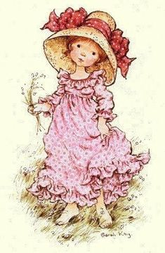 Sarah Kay, Types Of Purses, Holly Hobbie, So Creative, Coloring Pages, Decoupage, Childhood, Sticker, Mary