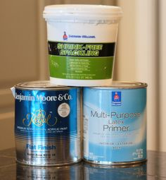 Chalk Paint Recipe from The Creativity Exchange