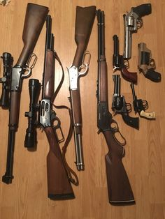 Winchester Rifle, Revolver Rifle, Tactical Guns, Zombie Weapons, Lever Action Rifles, Weapon Of Mass Destruction, Hunting Guns, American Gods, Cool Guns