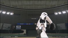 That Hit Was Out of This World - Star Wars Baseball / Darth Vader