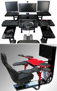 19 Gorgeously Geeky Pieces of Gaming Furniture
