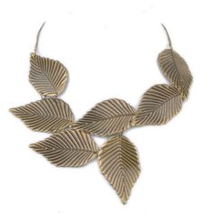 collar hojas | cooqui #necklace #fashion #accessories