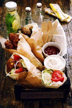 Falafel Wraps | Food&Chic