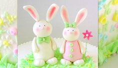 Gum Paste Bunnies! -Cake Topper Video Tutorial